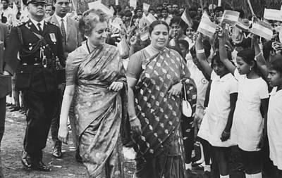 Gandhi Photograph - Prime Minister Indira Gandhi by Underwood Archives