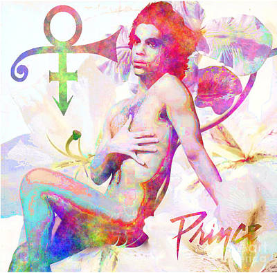 Prince Tribute Print by Andrew Kaupe
