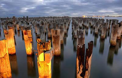 Damian Photograph - Princes Pier by Damian Morphou
