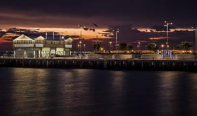 Princes Pier Gateway Print by Shari Mattox