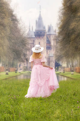 Vernal Photograph - Princess And Her Castle by Joana Kruse