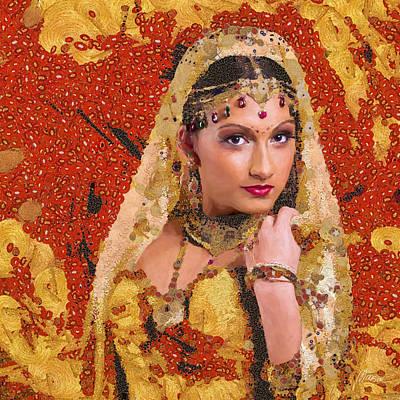 Princess Of Spice Original by Marina Likholat