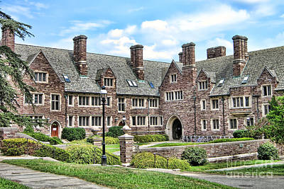 Dormitories Photograph - Princeton University Dormitory  by Olivier Le Queinec
