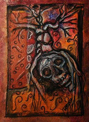 Ending Life Painting - Principium Et Finis by Mimulux patricia no