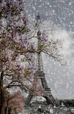 Eiffel Tower Photograph - Printemps Parisienne by Joachim G Pinkawa