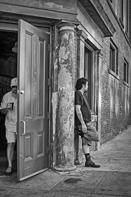 East Village Photograph - Priorities by Nikolyn McDonald