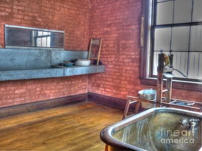 Mj Photograph - Prisoner's Bath And Laundry by MJ Olsen