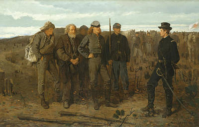 Yankees Painting - Prisoners From The Front by Mountain Dreams