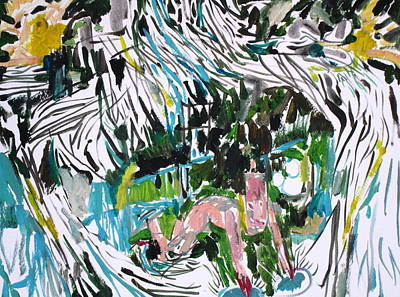 Cavern Painting - Problem/reaction/solution by Fabrizio Cassetta