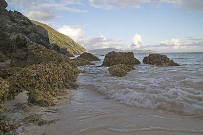 Problems Solved Keem Beach Ireland Print by Betsy C Knapp