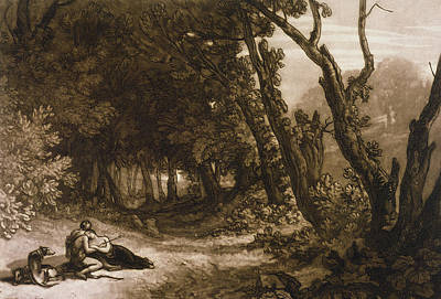 M.j Painting - Procris And Cephalus by Joseph Mallord William Turner