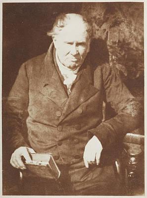 Portaits Photograph - Professor Alexander Monro. by British Library