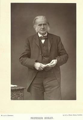 Professor Huxley Print by British Library
