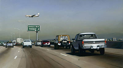 Airport Painting - Progress, 2005 by Joan Longas