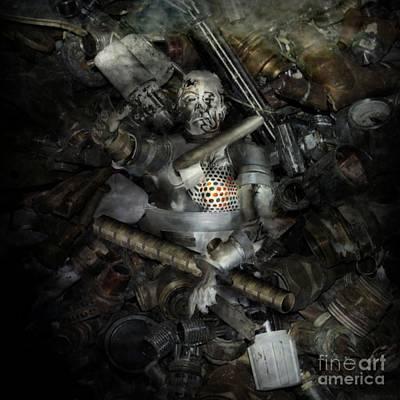 Reaching Up Digital Art - Progressions End by KJ Bruce - Creatocity