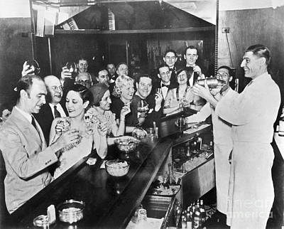 Greenwich Village Photograph - Prohibition Repeal, 1933 by Granger