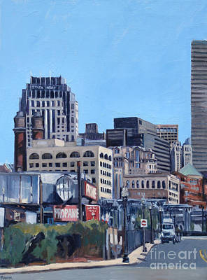 Southie Painting - Propane by Deb Putnam