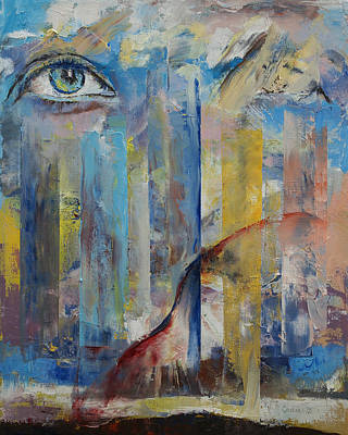 Jesus Face Painting - Prophet by Michael Creese