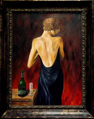 Prosecco Nights Framed Print by Gino Didio