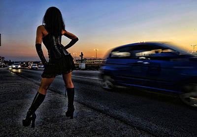 Naked Prostitute Photograph - Prostitute by Srdjan Petrovic