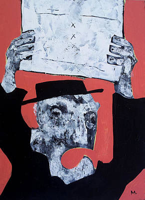 Protest Painting - Protesto No. 1  by Mark M  Mellon
