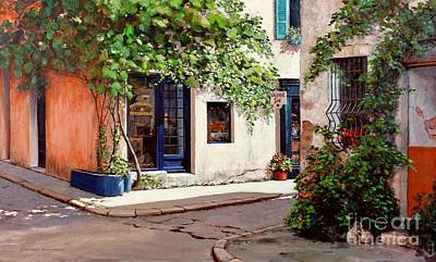Provence Antiques Print by Michael Swanson