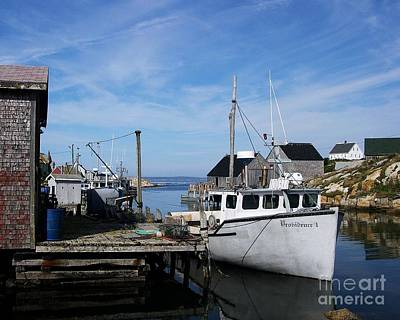 Fishing Shack Photograph - Providence by Mel Steinhauer