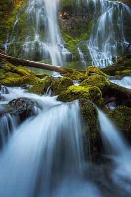 Fall Photograph - Proxy Falls Magic by Chris Moore