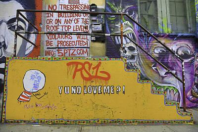 Ps1 Graffiti Print by E Osmanoglu