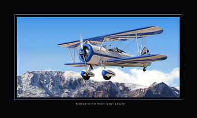 Pt-17 Stearman Print by Larry McManus
