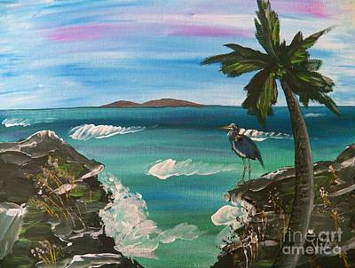 Ptg    Contemplation Print by Judy Via-Wolff