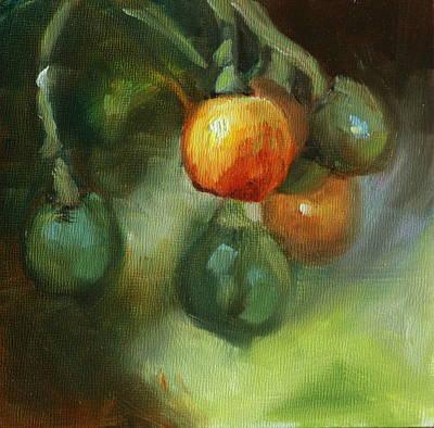 Heather Burton Painting - Puakinikini by Heather Burton