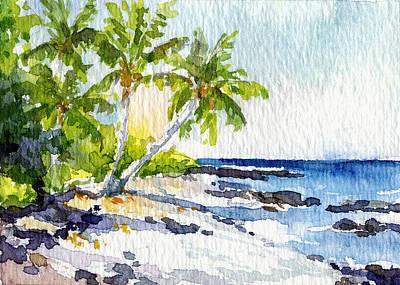 Haleiwa Painting - Puako Big Island by Stacy Vosberg