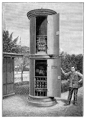 Public Transformer Station Print by Science Photo Library
