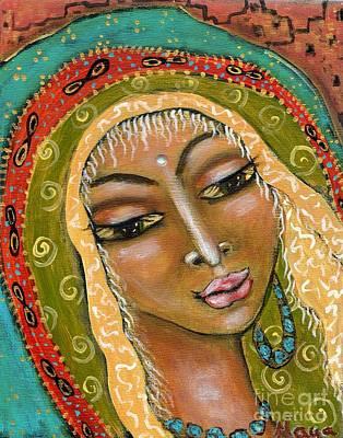 Painting - Pueblo Priestess by Maya Telford