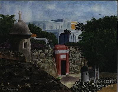Puerta De San Juan Original by Karen Ayala