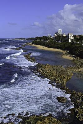 Tropical Photograph - Puerto Rico Coastline by Bonnie Leigh Delar