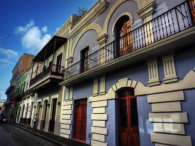 Puerto Rico - Old San Juan 002 Print by Lance Vaughn