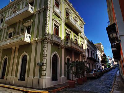 Puerto Rico - Old San Juan 004 Print by Lance Vaughn