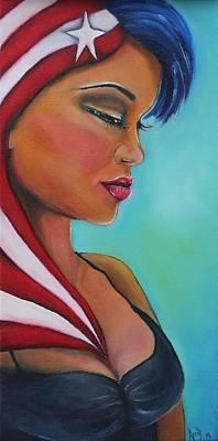 Puertorican Princess Original by Janice Aponte