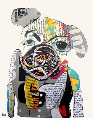 Pug Fiction Print by Bri B