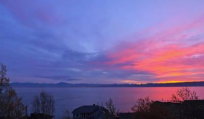 Whidbey Island Wa Photograph - Puget Sound by LaTasha Bjorkman
