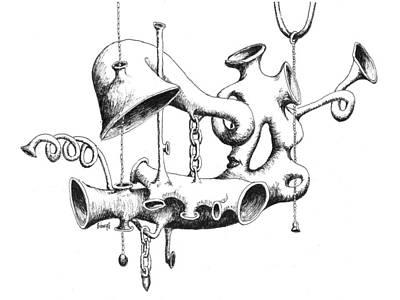 Pull My Chain Sweetheart Print by Sam Sidders
