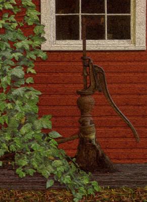 Pump Print by Jack Zulli