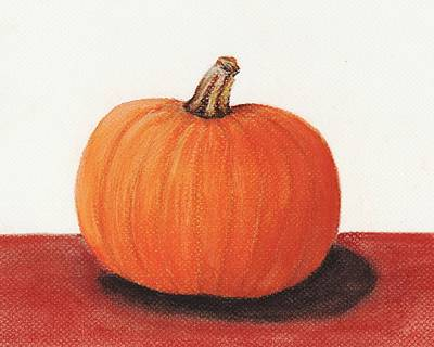 Pumpkin Print by Anastasiya Malakhova
