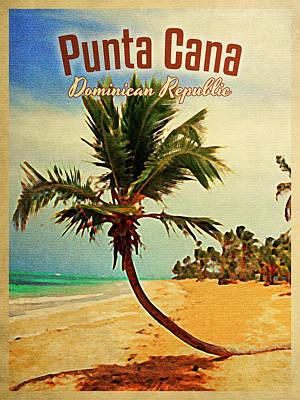 Punta Cana Dominican Republic Print by Flo Karp