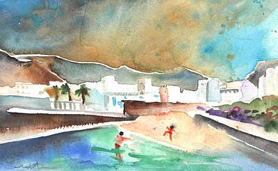 Lanzarote Painting - Punta Mujeres 01 by Miki De Goodaboom