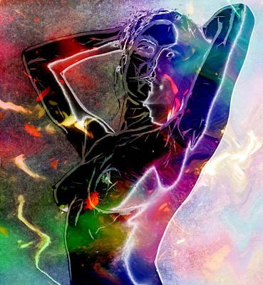 Pure Female Energy Print by Stefan Kuhn