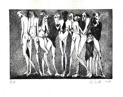 Ap Painting - Purgatory by Nesli Sisli
