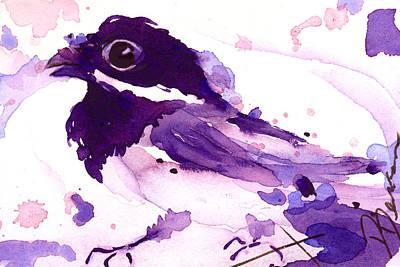 Purple Chick Original by Dawn Derman